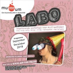 De NIEUWE LABO-brochure September - December 2018