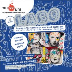 Nieuwe LABO-brochure januari - augustus 2019