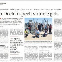 Jan Decleir speelt virtuele gids