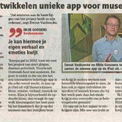 Senioren ontwikkelen unieke app voor museumbezoek
