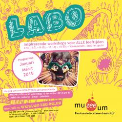 De LABO-Brochure januari - maart 2015 is er !!!