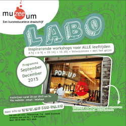 De nieuwe LABO-Brochure september - december 2015 is er !!!