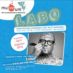 De Nieuwe LABO-Folder April - Augustus 2016