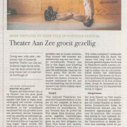 Theater Aan Zee groeit gezellig