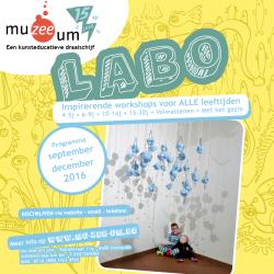 Nieuwe LABO-Brochure september - december 2016