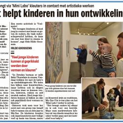 Kunst helpt kinderen in hun ontwikkeling