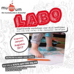 De Nieuwe LABO-brochure Januari - Augustus 2017 IS ER !